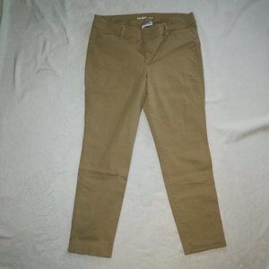 Old Navy Mid-Rise Pixie Chino Ankle Pants